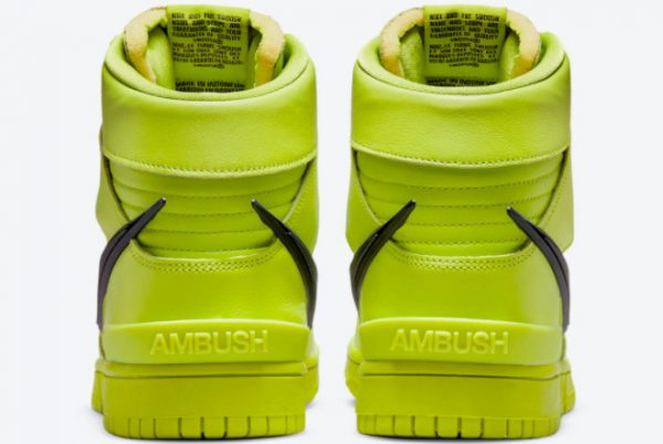 Latest Ambush x Nike Dunk High Flash Lime Atomic Green 2021 For Sale CU7544-300-3