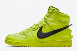 Latest Ambush x Nike Dunk High Flash Lime Atomic Green 2021 For Sale CU7544-300