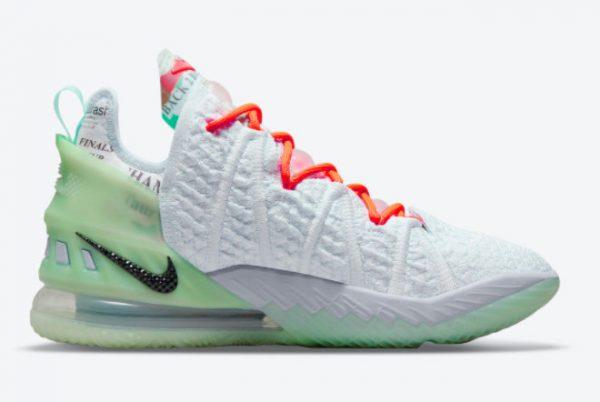 Latest Diana Taurasi x Nike LeBron 18 Goat 2021 For Sale CQ9283-401-1