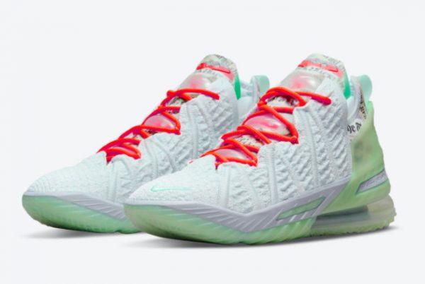 Latest Diana Taurasi x Nike LeBron 18 Goat 2021 For Sale CQ9283-401-2
