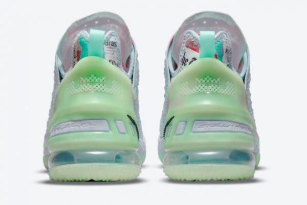 Latest Diana Taurasi x Nike LeBron 18 Goat 2021 For Sale CQ9283-401-3