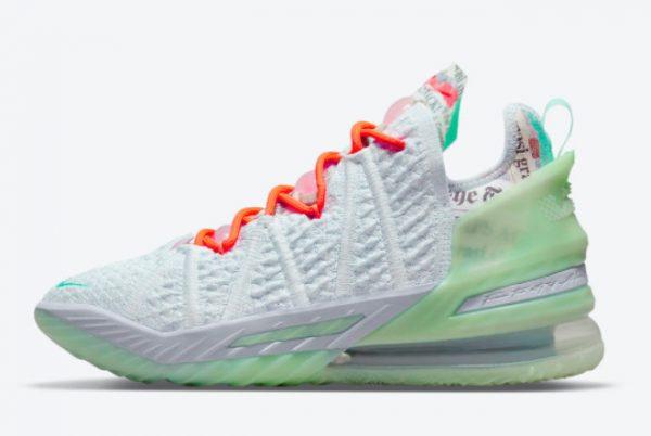 Latest Diana Taurasi x Nike LeBron 18 Goat 2021 For Sale CQ9283-401