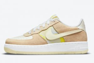 Latest Nike Air Force 1 Low GS Lemon Drop 2021 For Sale DM9476-700