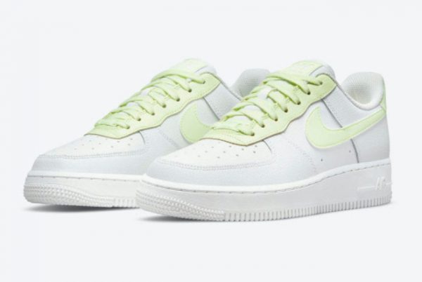 Latest Nike Air Force 1 Low WMNS White Barely Volt 2021 For Sale 315115-166-1