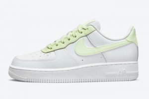 Latest Nike Air Force 1 Low WMNS White Barely Volt 2021 For Sale 315115-166