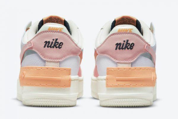 Latest Nike Air Force 1 Shadow Pink Glaze Sail Pink Glaze-Orange Chalk 2021 For Sale CI0919-111-3