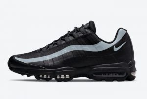 Latest Nike Air Max 95 Ultra Black Reflective 2021 For Sale DM9103-001