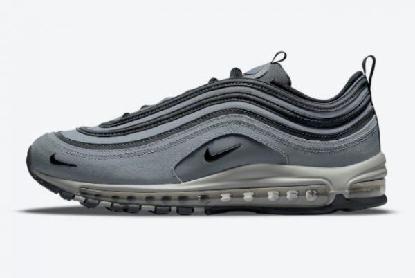 Latest Nike Air Max 97 Grey Black 2021 For Sale DH1083-002