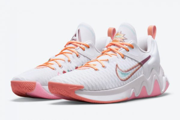 Latest Nike Giannis Immortality Force Field Venice 2021 For Sale DH4470-500-2