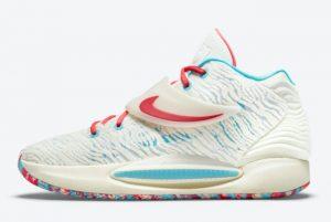 Latest Nike KD 14 Multicolor 2021 For Sale CW3935-700