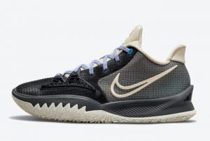 Latest Nike Kyrie Low 4 Black Bone 2021 For Sale CW3985-003