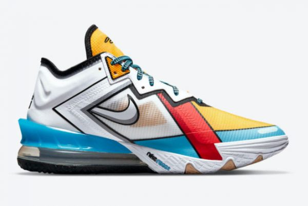 Latest Nike LeBron 18 Low Stewie Griffin 2021 For Sale CV7564-104-1