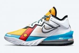 Latest Nike LeBron 18 Low Stewie Griffin 2021 For Sale CV7564-104