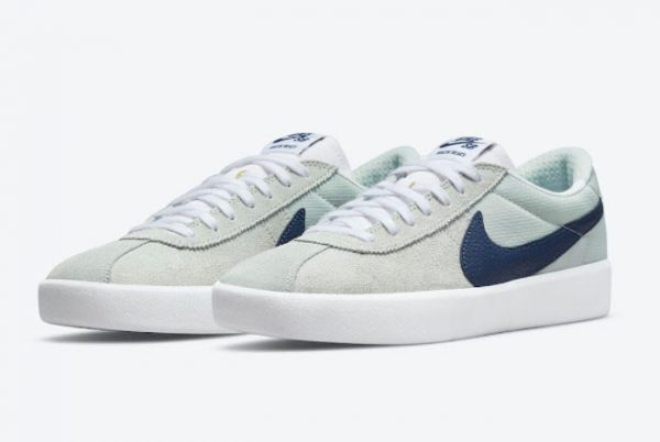 Latest Nike SB Bruin React Mint Navy White 2021 For Sale CJ1661-004-1