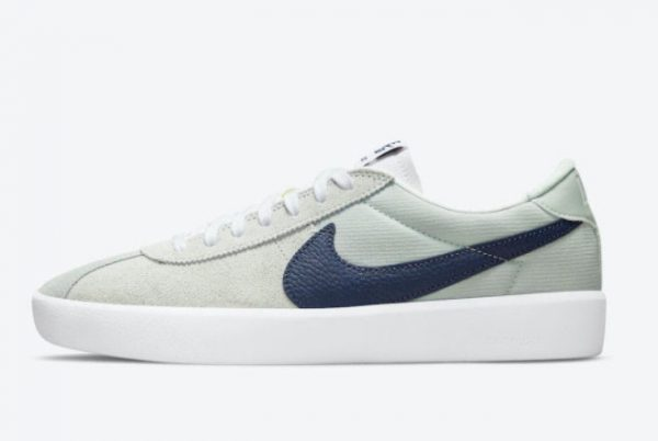 Latest Nike SB Bruin React Mint Navy White 2021 For Sale CJ1661-004