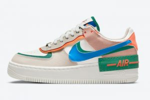 Latest Nike Wmns Air Force 1 Shadow First Use 2021 For Sale CI0919-109