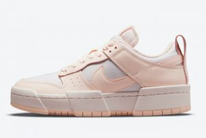 Latest Nike Wmns Dunk Low Disrupt Barely Rose 2021 For Sale CK6654-602