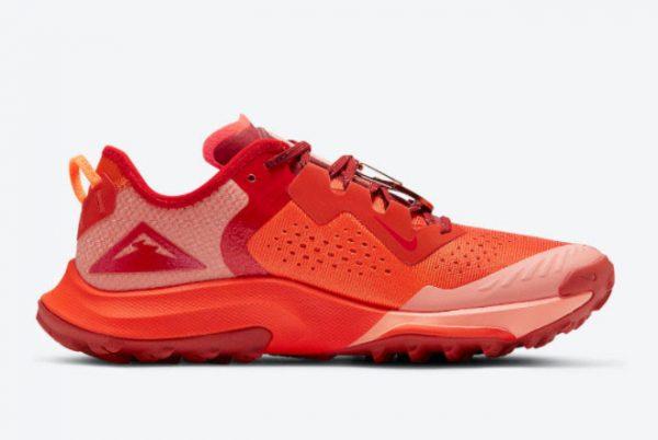 New Nike Air Zoom Terra Kiger 7 Team Orange For Sale DM9469-800-1