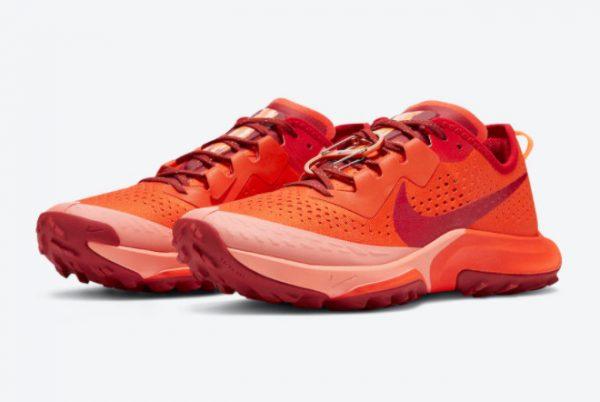 New Nike Air Zoom Terra Kiger 7 Team Orange For Sale DM9469-800-2