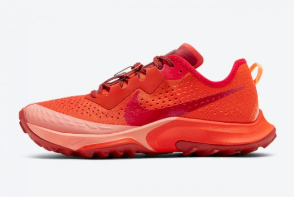 New Nike Air Zoom Terra Kiger 7 Team Orange For Sale DM9469-800