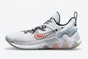 New Nike Giannis Immortality White Clear White/Clear-Black For Sale DH4470-100