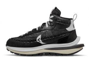 New Sacai x Jean Paul Gaultier x Nike VaporWaffle Black/Black-White 2021 For Sale DH9186-001