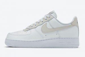 Nike Air Force 1 Low Light Bone Summit White Deep Royal-Summit White-Light Bone 2021 For Sale 315115-168