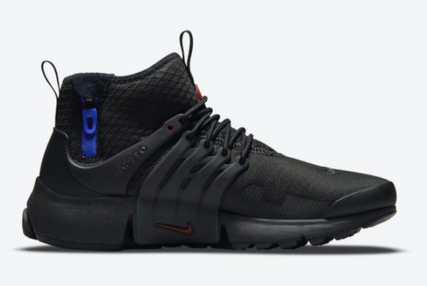 Nike Air Presto Mid Utility Darth Vader Black Team Red-Anthracite-Racer Blue 2021 For Sale DC8751-001-1