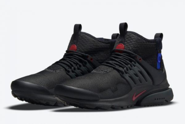Nike Air Presto Mid Utility Darth Vader Black Team Red-Anthracite-Racer Blue 2021 For Sale DC8751-001-2