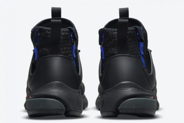 Nike Air Presto Mid Utility Darth Vader Black Team Red-Anthracite-Racer Blue 2021 For Sale DC8751-001-3