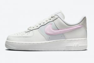 Cheap Nike Air Force 1 Low Chenille Swoosh Plush Pink DQ0826-100