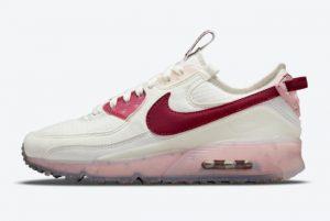 Cheap Nike Air Max 90 Terrascape Pomegranate Summit White/Pomegranate-Pink Glaze 2021 For Sale DC9450-100