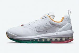 Cheap Nike Air Max Genome White Multi-Color 2021 For Sale DH1634-100