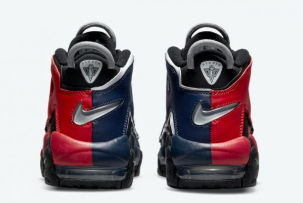 Cheap Nike Air More Uptempo GS Black Red Navy 2021 For Sale DM0017-001-4