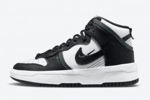 Cheap Nike Dunk High Rebel Black White 2021 For Sale DH3718-104