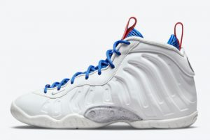 Cheap Nike Little Posite One Photon Dust/University Red-Game Royal-Metallic Silver 2021 For Sale DJ4024-001