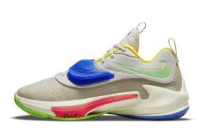 Cheap Nike Zoom Freak 3 Primary Colors 2021 For Sale DA0695-100