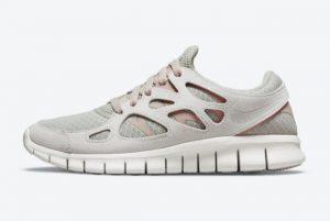 Cheap Nike Free Run 2 Pure Platinum White Summit White-Pure Platinum 2021 For Sale DM8915-001