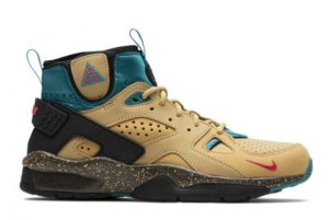 Latest Nike ACG Air Mowabb Twine Twine/Fusion Red-Club Gold-Teal Charge 2021 For Sale DC9554-700