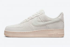 Latest Nike Air Force 1 Low Summit White/Pearl White-Black 2021 For Sale DO6730-100