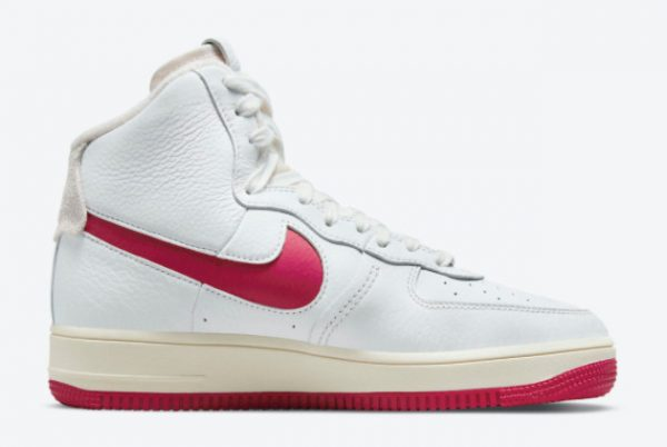 Latest Nike Air Force 1 Strapless Summit White/Gym Red-Summit White 2021 For Sale DC3590-100-1