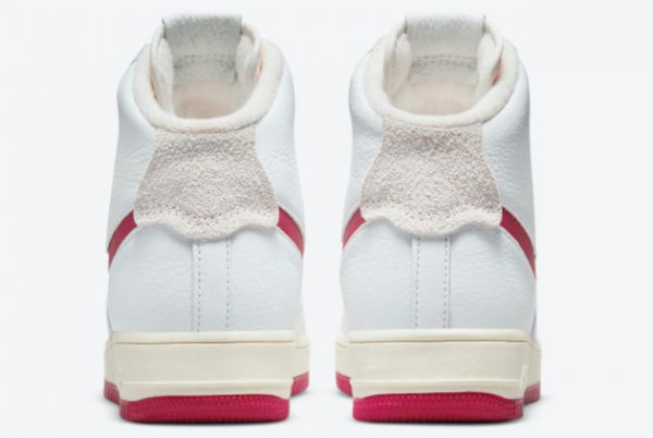 Latest Nike Air Force 1 Strapless Summit White/Gym Red-Summit White 2021 For Sale DC3590-100-3