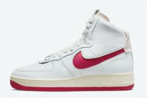 Latest Nike Air Force 1 Strapless Summit White/Gym Red-Summit White 2021 For Sale DC3590-100