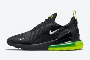 Latest Nike Air Max 270 Black Neon 2021 For Sale DO6392-001