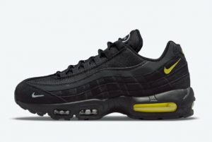 Latest Nike Air Max 95 Black Yellow 2021 For Sale DO6704-001