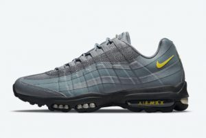 Latest Nike Air Max 95 Ultra Black Bright Blue 2021 For Sale DO6705-002