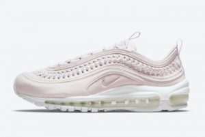 Latest Nike Air Max 97 LX WMNS Woven Pastel Pink 2021 For Sale DC4144-500