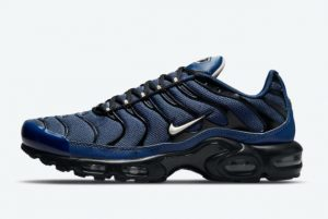 Latest Nike Air Max Plus Midnight Navy Black 2021 For Sale DC6094-400