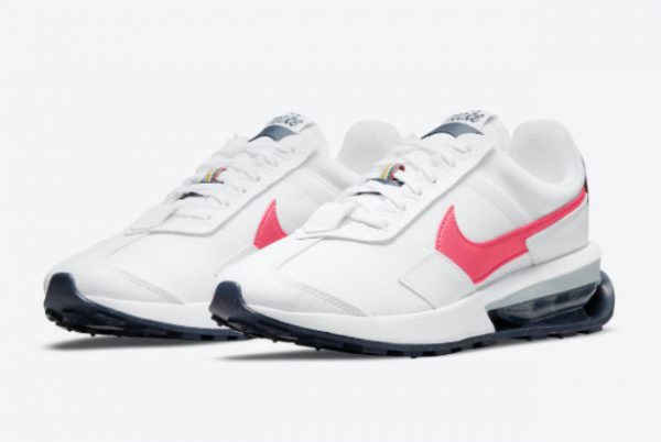 Latest Nike Air Max Pre-Day Archeo Pink White/Archeo Pink-Thunder Blue-Pollen 2021 For Sale DM0124-100-2