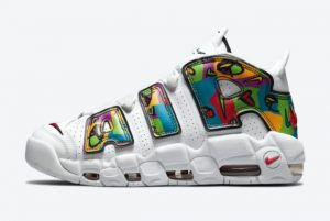 Latest Nike Air More Uptempo Peace Love Swoosh 2021 For Sale DM8150-100